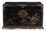 A JAPANESE EXPORT BRASS-MOUNTED LACQUER CHEST, EARLY 18TH CENTURY