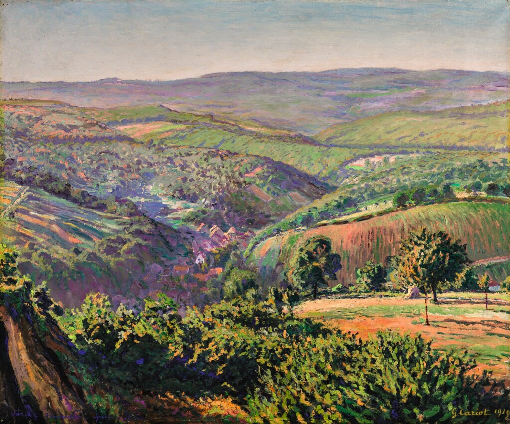 GUSTAVE CARIOT |  PAYSAGE