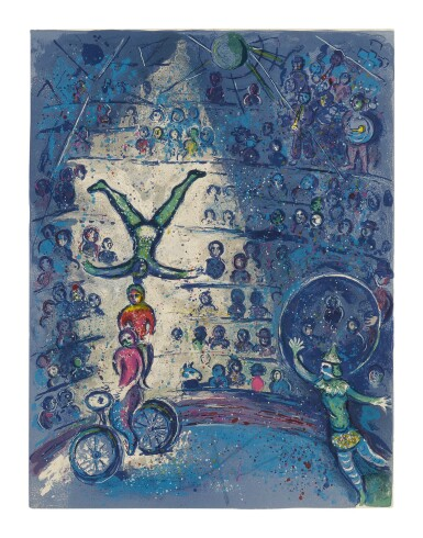MARC CHAGALL | THE CIRCUS: ONE PLATE (M. 491; SEE C. BKS. 68)