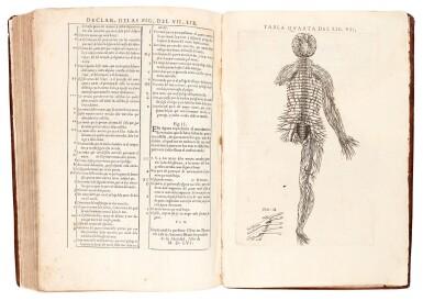 View 3. Thumbnail of Lot 54. Valverde de Amusco | Historia de la composicion del cuerpo humano, Rome, 1556, later calf.