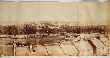 View 5. Thumbnail of Lot 156. Sydney | 360-degree photograph panorama, 1885.