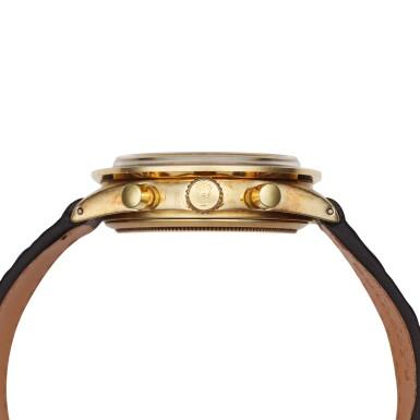 View 4. Thumbnail of Lot 220. Reference 6241 Daytona Paul Newman 'John Player Special'  A yellow gold chronograph wristwatch, Circa 1968.