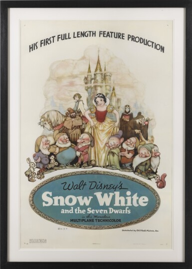SNOW WHITE AND THE SEVEN DWARFS (1937) POSTER, US