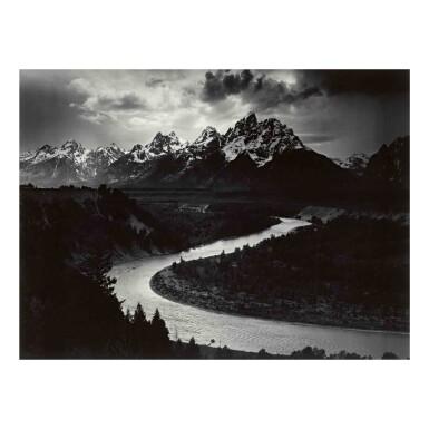 View 1. Thumbnail of Lot 53. The Grand Tetons and the Snake River, Grand Teton National Park, Wyoming.