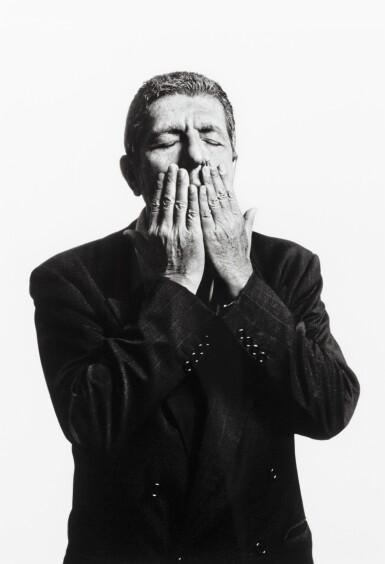 View 1. Thumbnail of Lot 159. Leonard Cohen, Paris 1994.