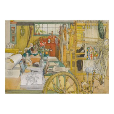 CARL LARSSON | VERKSTADEN (THE WORKSHOP)
