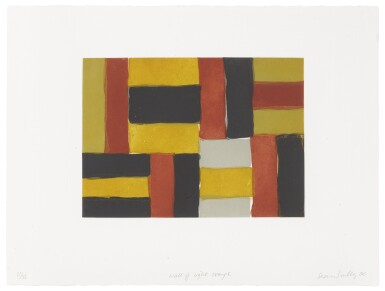 SEAN SCULLY | WALL OF LIGHT ORANGE