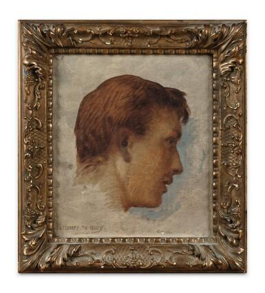 View 2. Thumbnail of Lot 73. Portrait of Jacques Lecomte du Nouÿ (1885-1961), the artist's son.