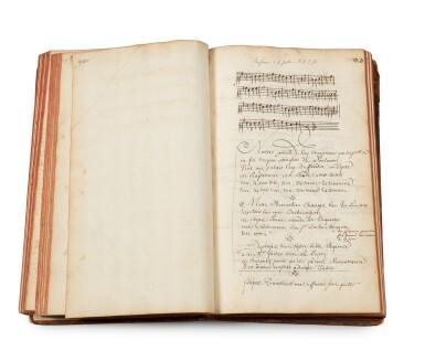 View 3. Thumbnail of Lot 19. TALLEMANT DES RÉAUX, Gédéon. [Vaudeville]. Manuscrit inconnu, en partie autographe, de pièces en vers.