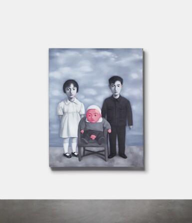 View 3. Thumbnail of Lot 1125. ZHANG XIAOGANG 張曉剛 | BLOODLINE-BIG FAMILY: FAMILY PORTRAIT 血緣-大家庭:全家福.