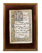 PAGE OF ANTIPHONARY [PAGE D'ANTIPHONAIRE]