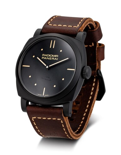 View 2. Thumbnail of Lot 365. PANERAI | RADIOMIR 1940 3 DAYS CERAMICA, REFERENCE PAM 577 A BLACK CERAMIC WRISTWATCH WITH 3 DAYS POWER RESERVE, CIRCA 2015.