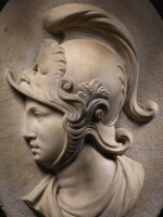 ITALIAN, CIRCA 1700 | RELIEF WITH A HELMETED WARRIOR