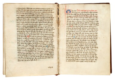 View 3. Thumbnail of Lot 1. JAMES OF MILAN | Pricking of love, illuminated manuscript in Middle English [England, fifteenth century].