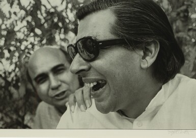 View 1. Thumbnail of Lot 98. JYOTI BHATT | UNTITLED (ELEVEN ICONIC PHOTOS OF ARTISTS).