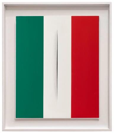 FRANCESCO VEZZOLI | L'ITALIA SIAMO NOI - OMAGGIO A LUCIO FONTANA