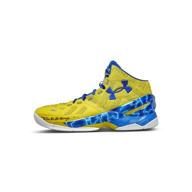 View 2. Thumbnail of Lot 801. Under Armour Stephen Curry Game Worn Dual Signed Curry 2.