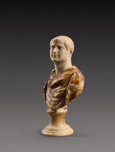 View 2. Thumbnail of Lot 159. Italian, 18th century | Bust of an Emperor.