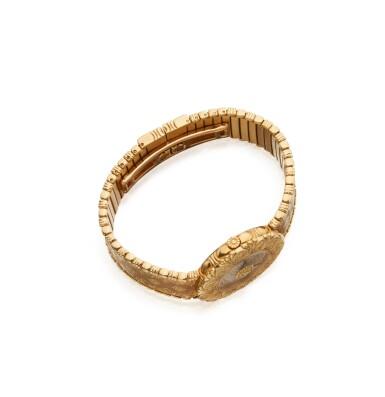 GOLD AND DIAMOND 'ELIOCHRON' WRISTWATCH, BUCCELLATI
