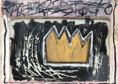 View 2. Thumbnail of Lot 117.  JEAN-MICHEL BASQUIAT | MINOR SUCCESS.