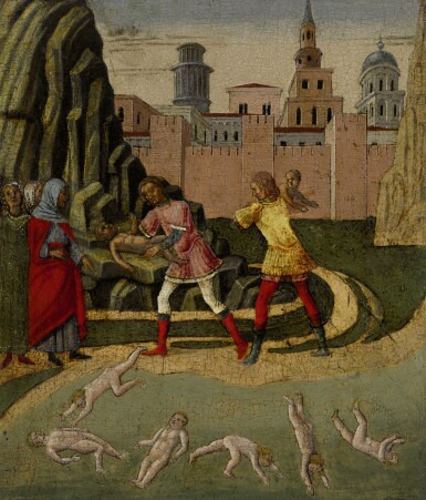 WORKSHOP OF THE MASTER OF THE CORRER PHAETHON  | MASSACRE OF THE INNOCENTS