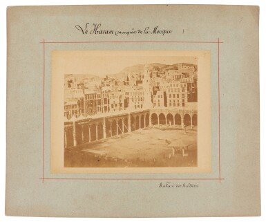View 6. Thumbnail of Lot 103. Mecca-after Muhammad Sadiq Bey | A collection of seven photographs of Mecca, circa 1880s.