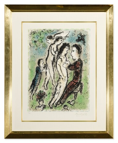 View 2. Thumbnail of Lot 61. MARC CHAGALL | YOUTH (M. 1048).
