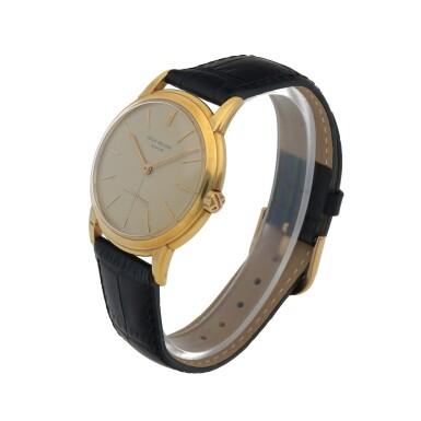 View 2. Thumbnail of Lot 81. Ref. 2551 Yellow gold wristwatch Made in 1958 | 百達翡麗 2551型號黃金腕錶,1958年製.