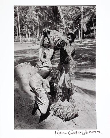 HENRI CARTIER-BRESSON | Near Trivandrum, Kerala, 1966