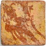 NORTHERN FRENCH, 14TH/ 15TH CENTURY | TILE DEPICTING A JESTER