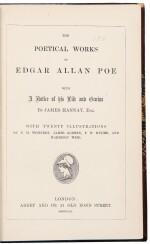 [Dickens, Charles] — Edgar Allan Poe. Dickens personal copy of Poe's Poetical Works