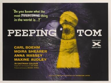 PEEPING TOM (1960) POSTER, BRITISH