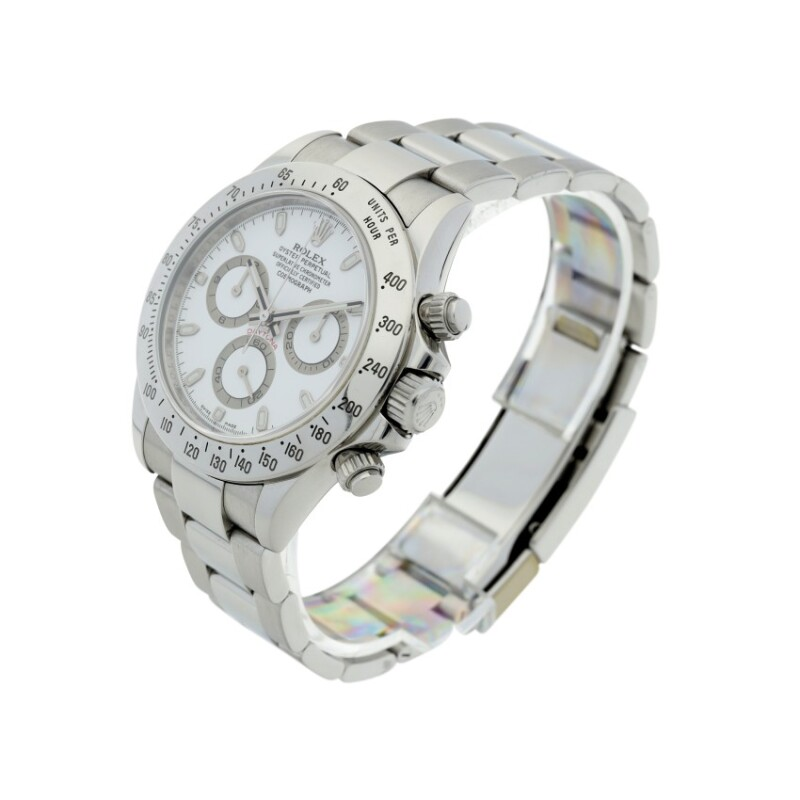 Daytona, Reference 116520  A Stainless Steel Automatic Chronograph Wristwatch with Bracelet, circa 2008