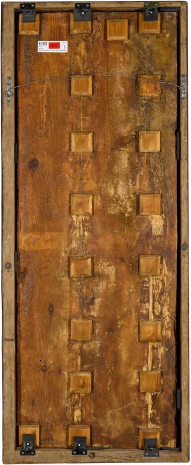 View 4. Thumbnail of Lot 25. MAESTRO DE LOS FLORIDA (JUAN DE BONILLA? DOC. 1442–78) |  SAINT MICHAEL VANQUISHING THE DEVIL   .