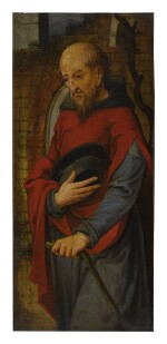 MASTER OF THE ADULTEROUS WOMAN OF GHENT   SAINT JOSEPH