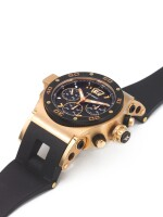 HYSEK | ABYSS EXPLORER, A LIMITED EDITION PINK GOLD AUTOMATIC CHRONOGRAPH WRISTWATCH WITH DATE CIRCA 2012