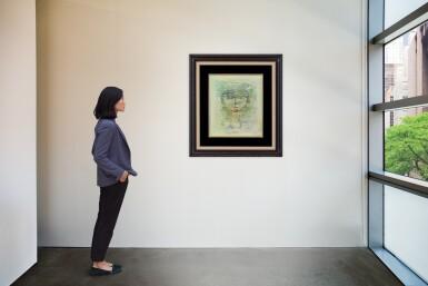 View 4. Thumbnail of Lot 1018. Zao Wou-Ki 趙無極 | Portrait d'homme 男子肖像.