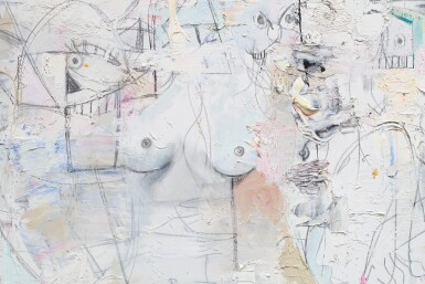 View 2. Thumbnail of Lot 27. GEORGE CONDO | TRANSPARENT FIGURES.