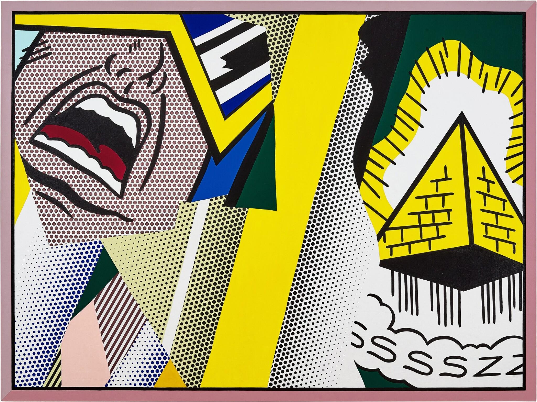 View full screen - View 1 of Lot 1117. Roy Lichtenstein 羅伊・李奇登斯坦 | Reflections: Mystical Painting 反射系列:神秘的繪畫.