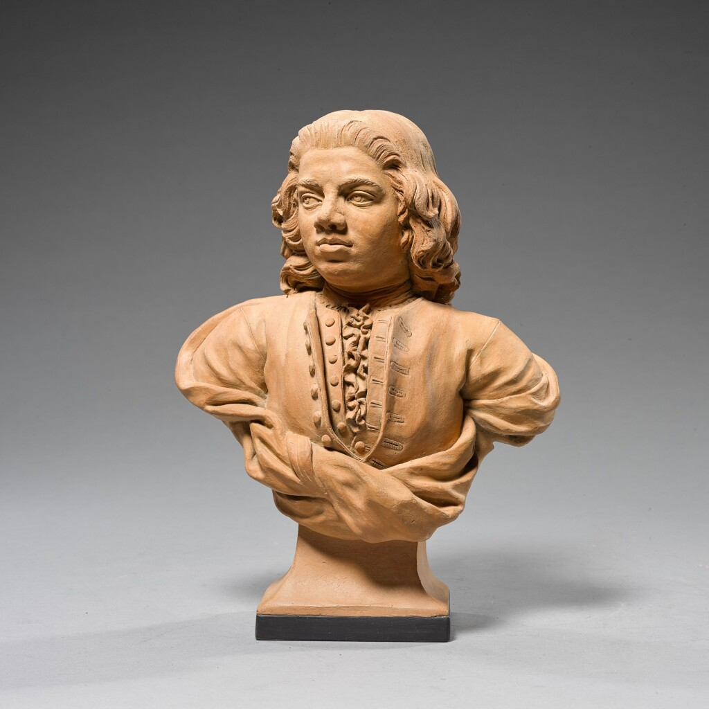 ENGLISH, 18TH CENTURY | BUST OF ALLAN RAMSAY, POSSIBLY A SELF PORTRAIT
