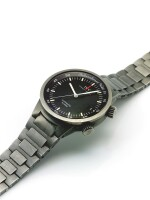 IWC | GST, A TITANIUM AUTOMATIC CENTER SECONDS WRISTWATCH WITH DATE AND ALARM CIRCA 2005