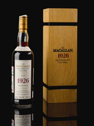 View 4. Thumbnail of Lot 160. THE MACALLAN FINE & RARE 60 YEAR OLD 42.6 ABV 1926 .