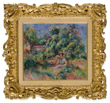 View 2. Thumbnail of Lot 11. Femme de le jardin de Cagnes (Femme assise dans l'herbe).