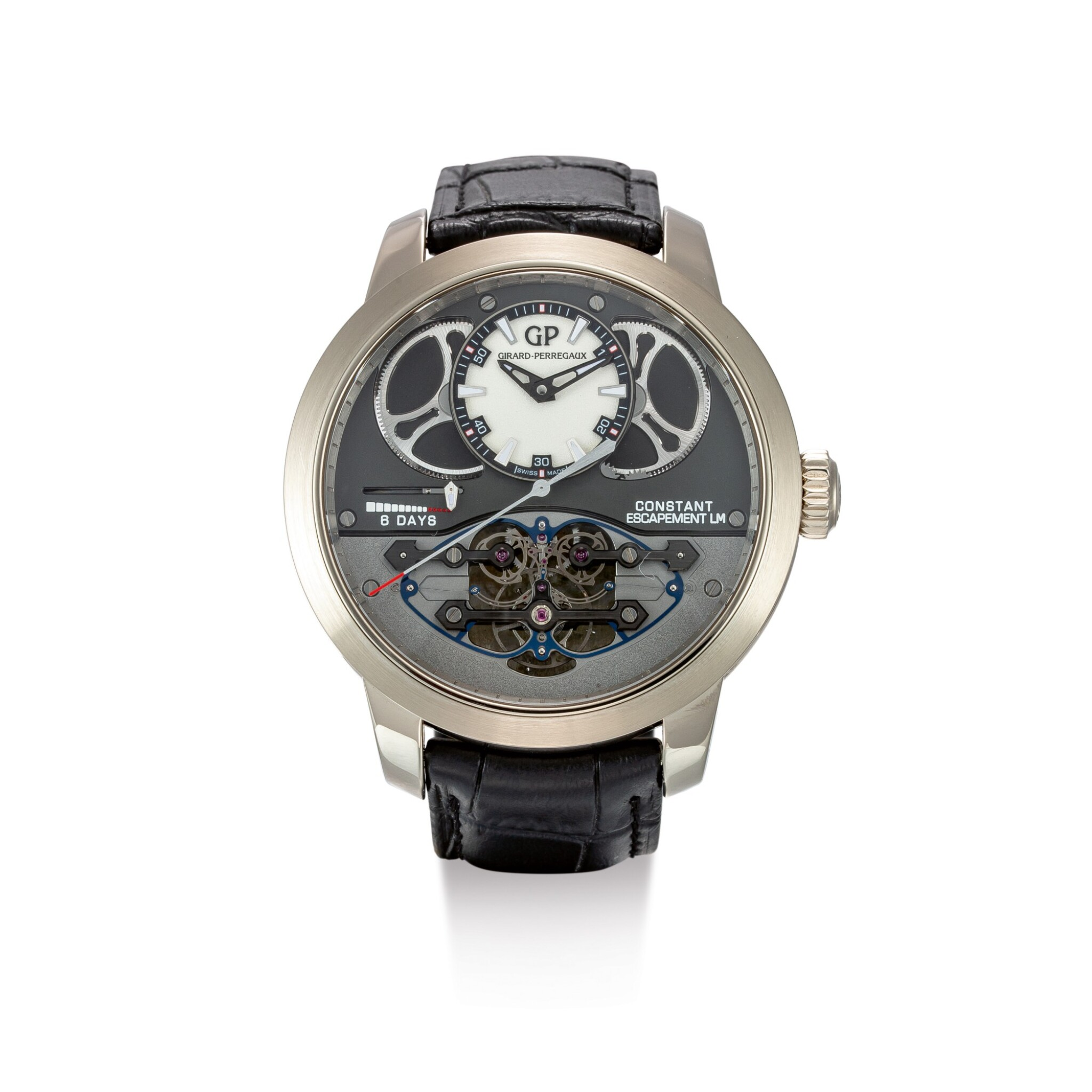 """View full screen - View 1 of Lot 2077. GIRARD-PERREGAUX 