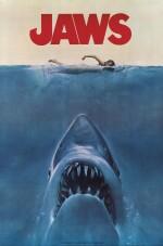Jaws (1975) special souvenir magazine poster, US