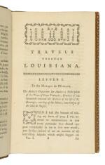 BOSSU, JEAN BERNARD | Travels Through That Part of North America Formerly Called Louisiana. London: T. Davies, 1771