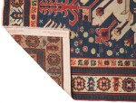 A SOUTH CAUCASIAN RUG WITH CHELABERD MEDALLION