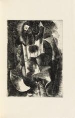Le Siège de Jérusalem. 1914. Sublime exemplaire sur Japon, dans une reliure de Paul Bonet.