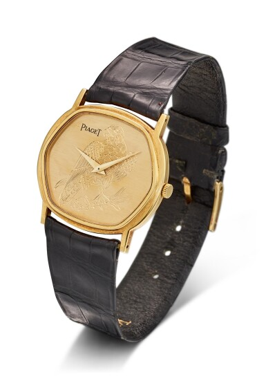 View 3. Thumbnail of Lot 8121. PIAGET | REFERENCE 9597 | A YELLOW GOLD WRISTWATCH, CIRCA 1970 | 伯爵 | 型號9597 黃金腕錶,約1970年製.