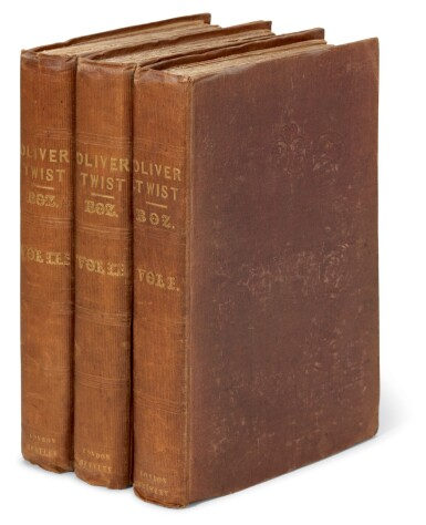 Dickens, Oliver Twist, 1838, second edition, later issue